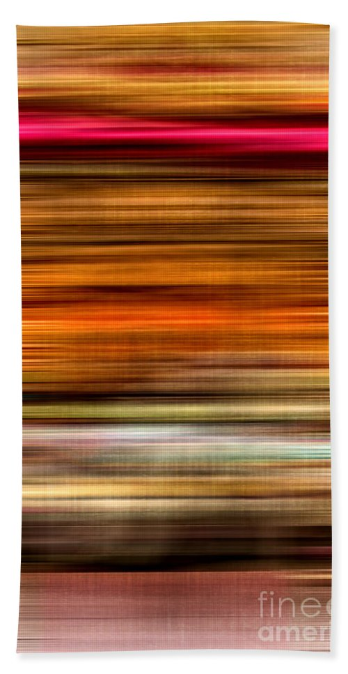 Abstract Beach Towel featuring the photograph Merry Go Round Abstract by Edward Fielding