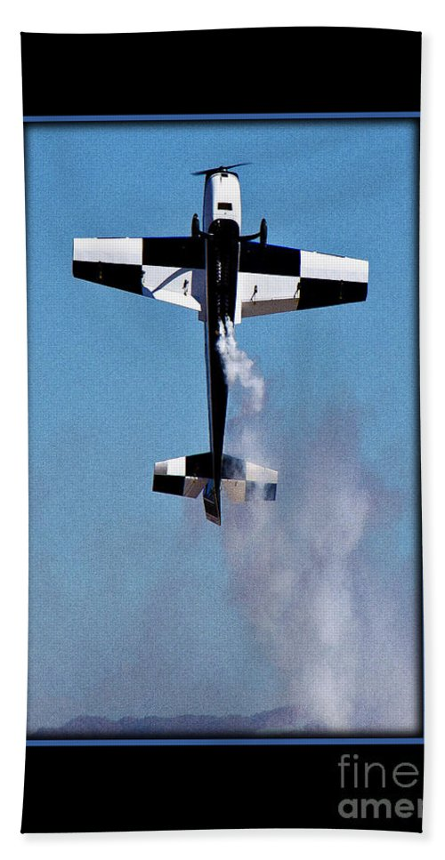 Plane Beach Towel featuring the photograph Model Plane 11 by Larry White
