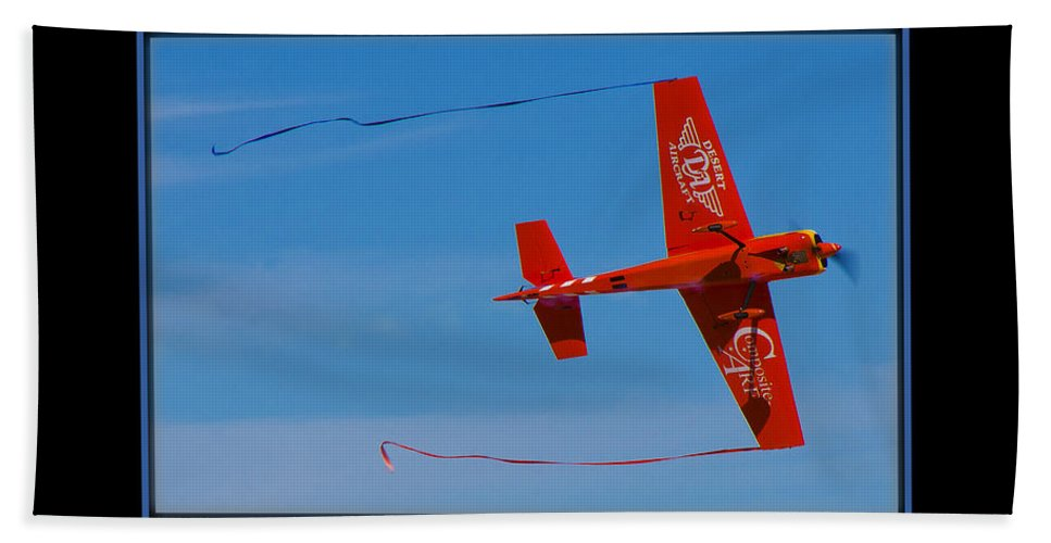 Plane Beach Towel featuring the photograph Model Plane 6 by Larry White