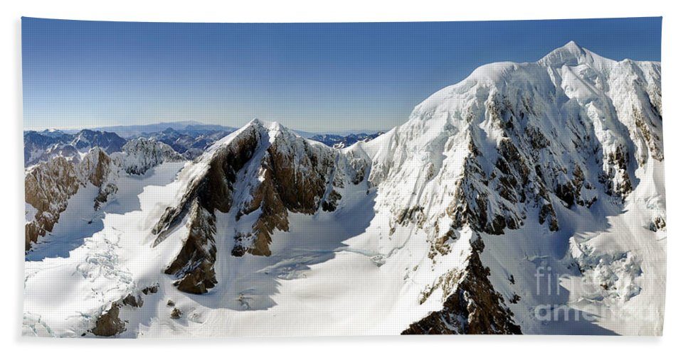 New Zealand Beach Towel featuring the photograph Mount Cook by Delphimages Photo Creations