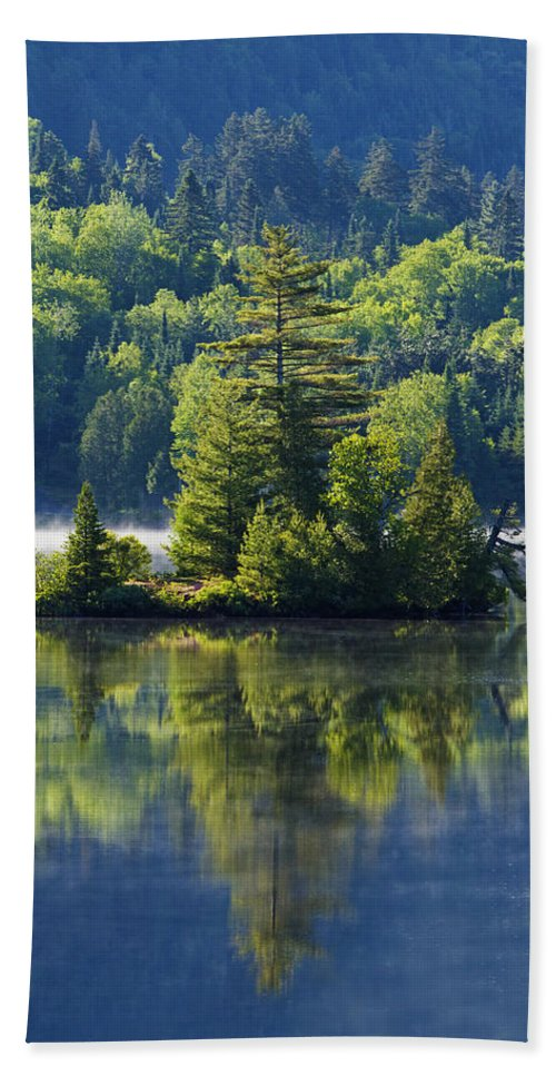 Mont Beach Towel featuring the photograph Mont Tremblant National Park by Mircea Costina Photography