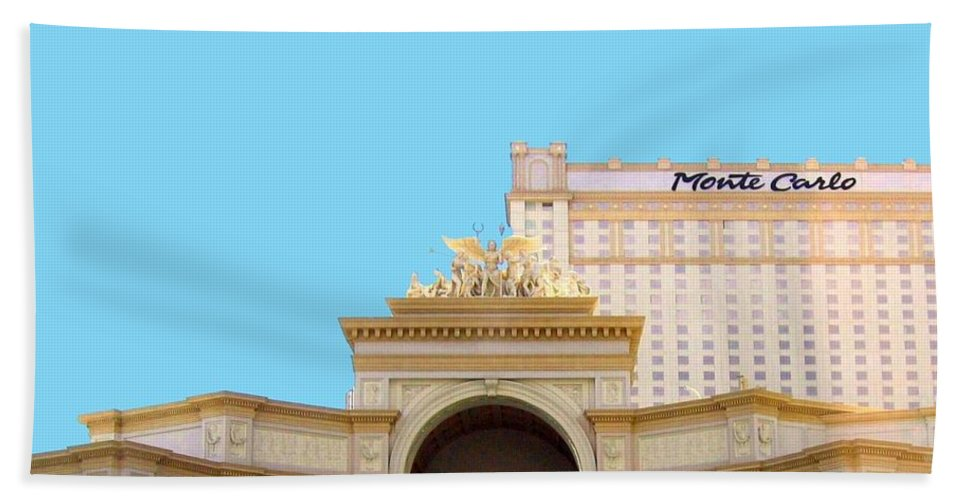 Monte Carlo Beach Towel featuring the photograph Monte Carlo by Will Borden