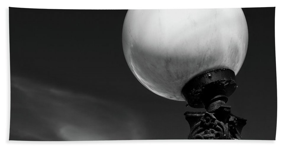 Stockholm Beach Towel featuring the photograph Moon Light by Dave Bowman