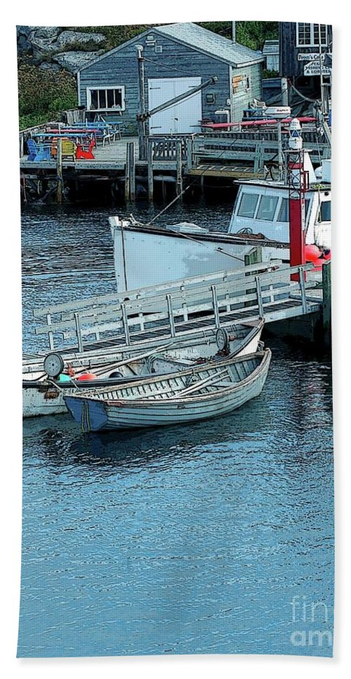 Row Beach Towel featuring the photograph More Boats by Kathleen Struckle