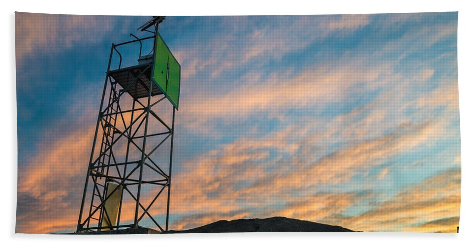 New Jersey Beach Towel featuring the photograph Morning Beauty by Kristopher Schoenleber