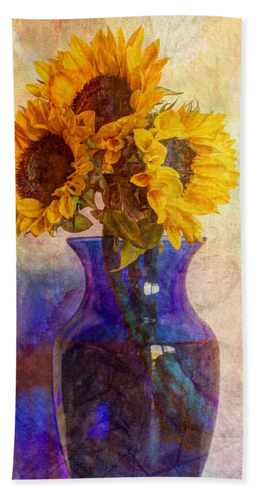 Yellow Beach Towel featuring the photograph Morning Sunshine by Heidi Smith