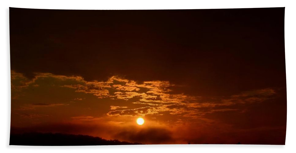 My Morning Manna Beach Towel featuring the photograph My Morning Manna by Maria Urso