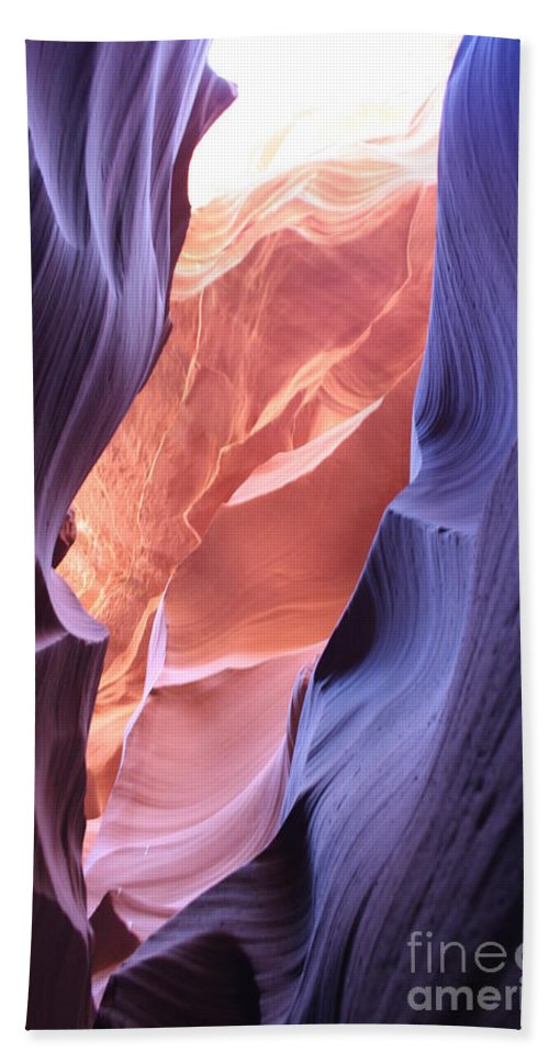Canyon Beach Towel featuring the photograph Narrow Canyon Xii by Christiane Schulze Art And Photography