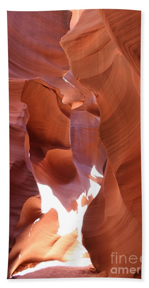 Canyon Beach Towel featuring the photograph Narrow Canyon XIII by Christiane Schulze Art And Photography