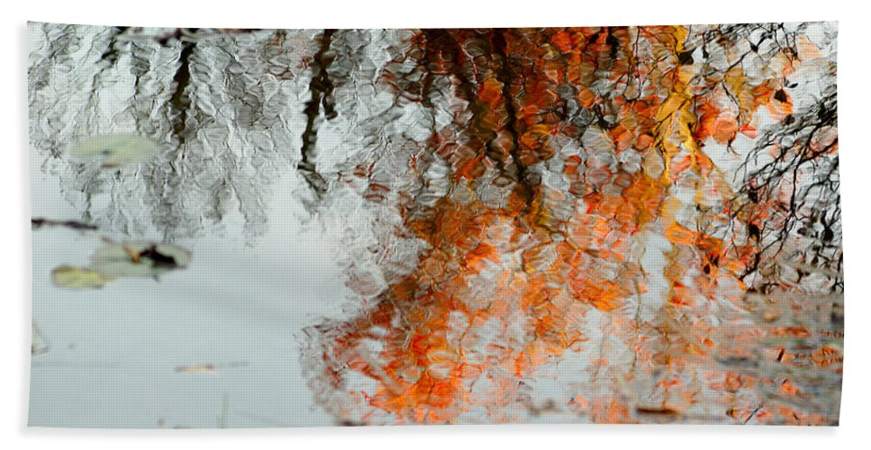 Tree Beach Towel featuring the photograph Natural Paint Daubs by Aimelle