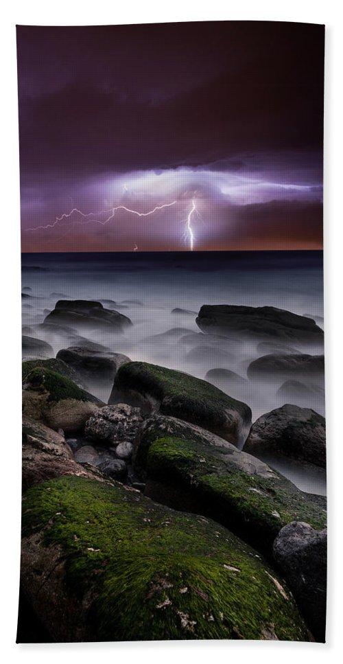 Landscape Beach Towel featuring the photograph Nature's Splendor by Jorge Maia