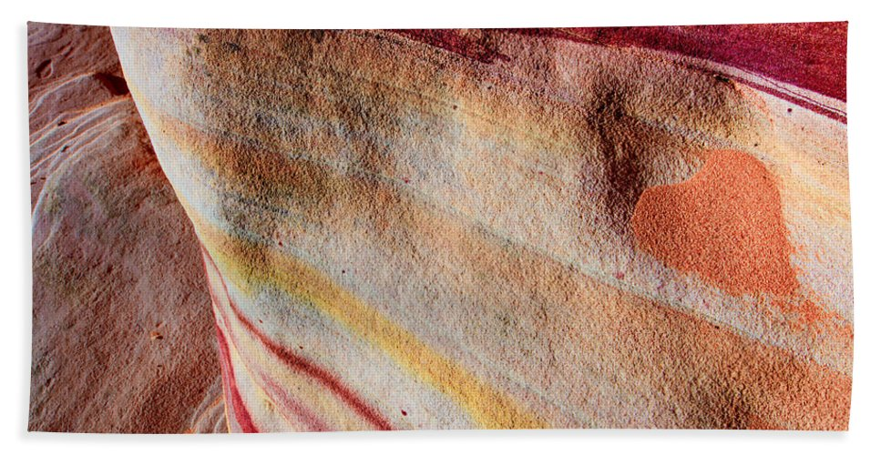 Valentine Beach Towel featuring the photograph Nature's Valentine by Chad Dutson