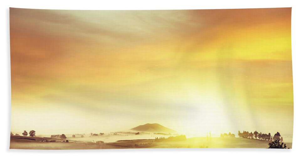 Nature Beach Towel featuring the photograph New Beginning by Les Cunliffe