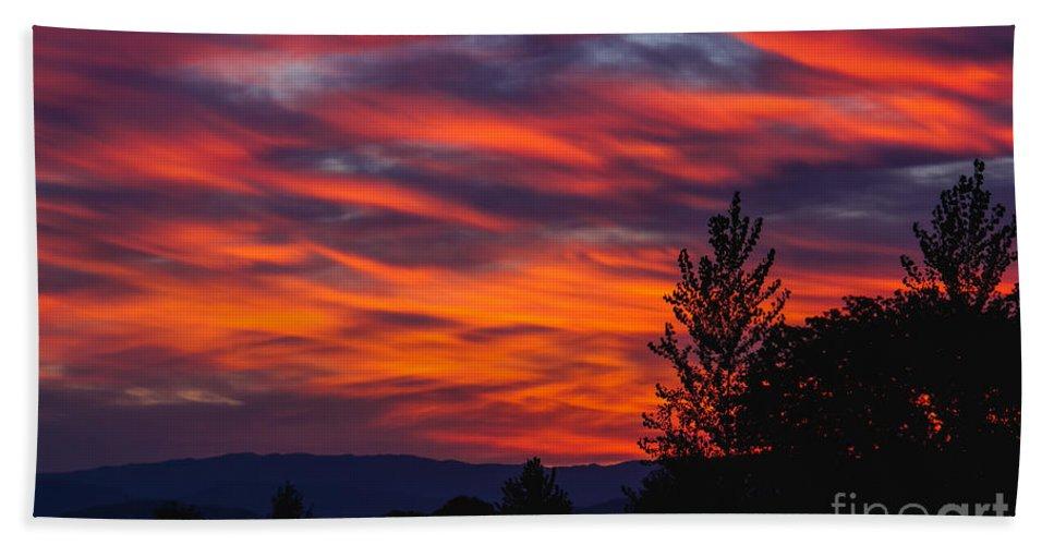 Sunrise Beach Towel featuring the photograph New Beginning by Robert Bales
