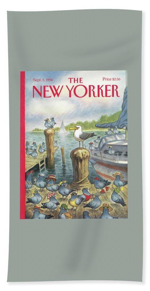 New Yorker September 5th, 1994 Beach Sheet