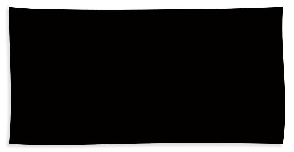Night Flight Butterfly Black Beach Towel featuring the digital art Night Flight - Butterfly - Black by Barbara Griffin