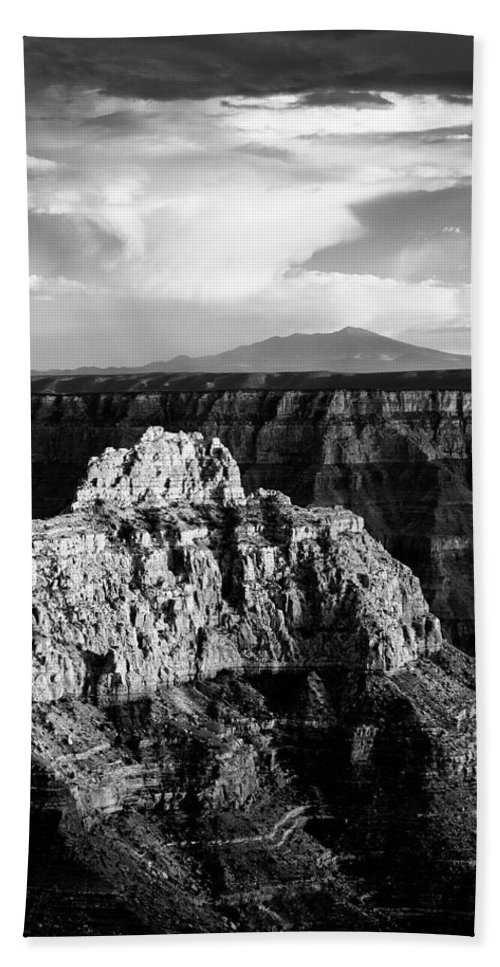 Grand Canyon Beach Towel featuring the photograph North Rim by Dave Bowman