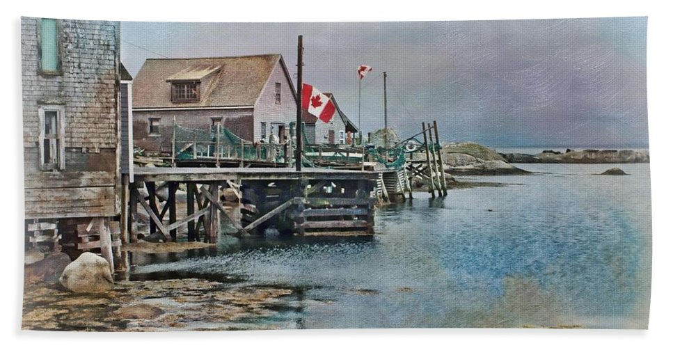 Canada Beach Towel featuring the photograph O Canada by Nikolyn McDonald
