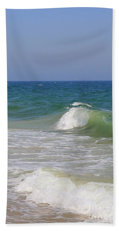 Ocean Beach Towel featuring the photograph Ocean Crest by Neal Eslinger