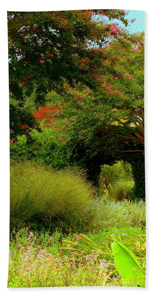 Fine Art Beach Towel featuring the photograph Of Earthly Delights by Rodney Lee Williams