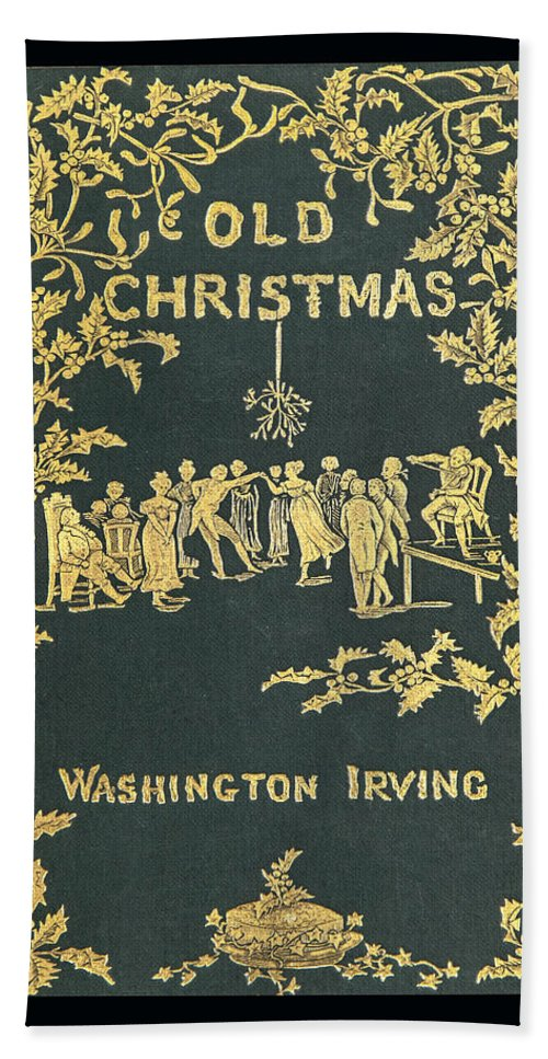 Ancient Beach Towel featuring the photograph Old Christmas by Jack R Perry
