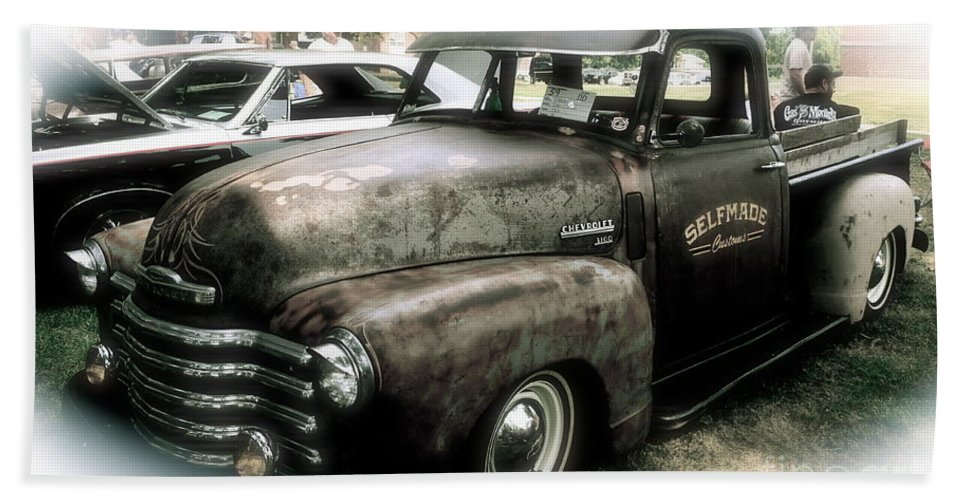 Selfmade Customs Beach Towel featuring the photograph Old Rusty by Luther Fine Art