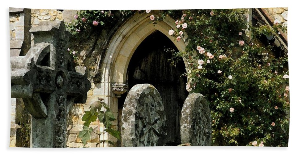 Door Beach Towel featuring the photograph Open Paths II by Christine Jepsen