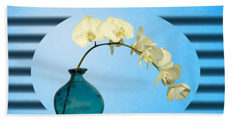 Desire Beach Towel featuring the photograph Orcidea by Mark Ashkenazi
