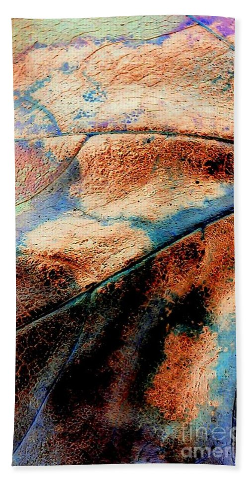 Organic Beach Towel featuring the photograph Organic by Jacqueline McReynolds