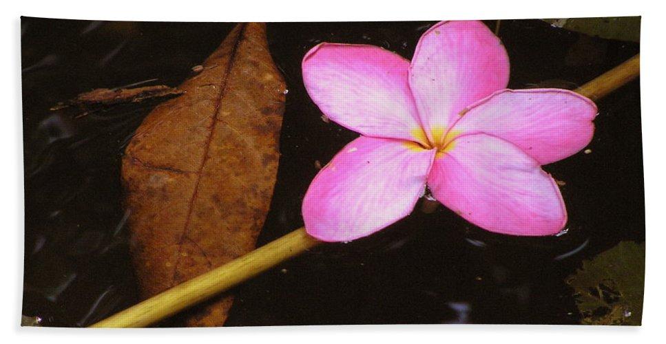 Flora Beach Towel featuring the photograph Oriental Touch by Irina Davis