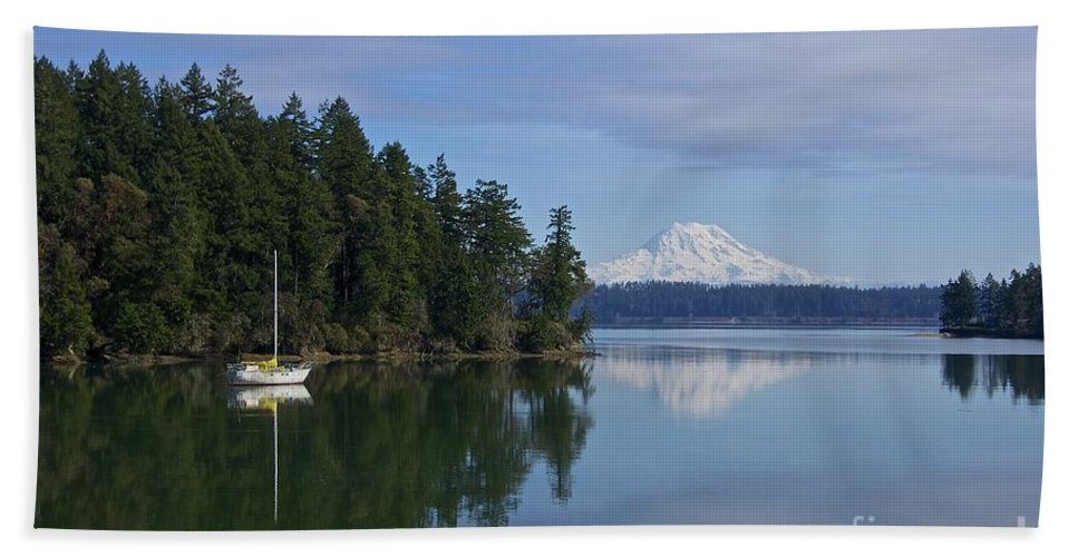 Photography Beach Towel featuring the photograph Oro Bay IIi by Sean Griffin