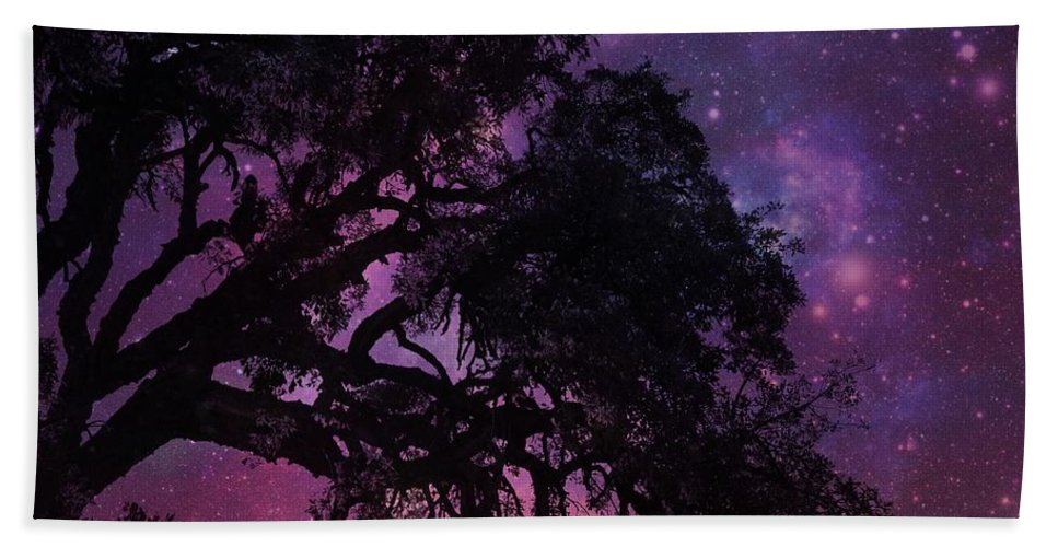 Tree Beach Towel featuring the photograph Our Amazing World by Clare Bevan