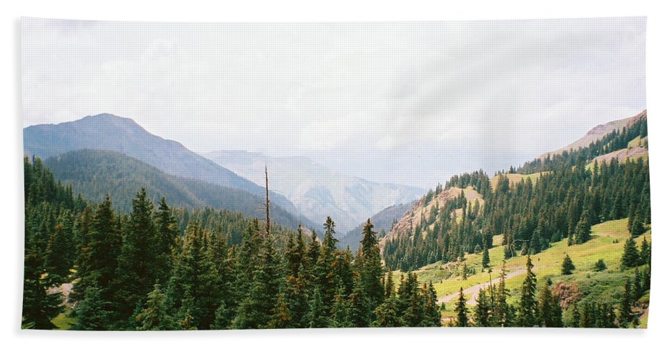 Over Yonder Beach Towel featuring the photograph Over Yonder by Jennifer Lavigne