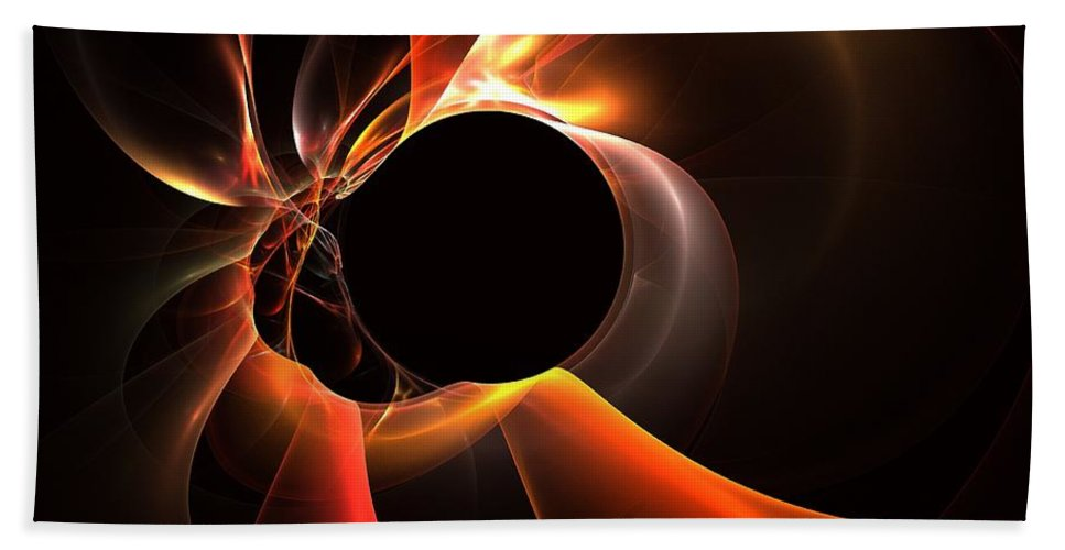 Apophysis Beach Towel featuring the digital art Oxide by Kim Sy Ok
