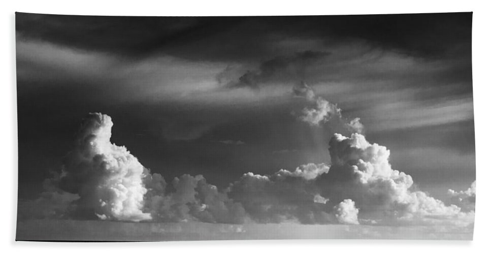 Clouds Beach Towel featuring the photograph Pacific Clouds by Alex Snay