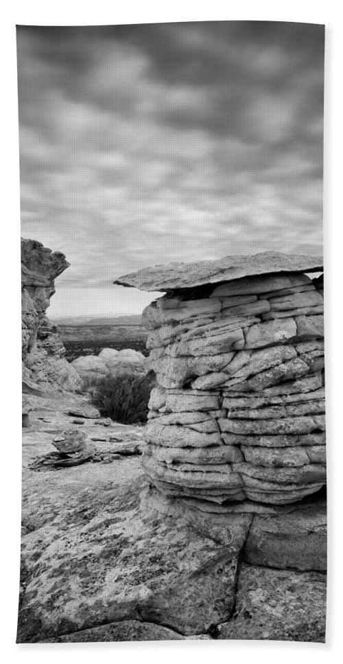 Paria Wilderness Beach Towel featuring the photograph Paria Sandstone by Leland D Howard