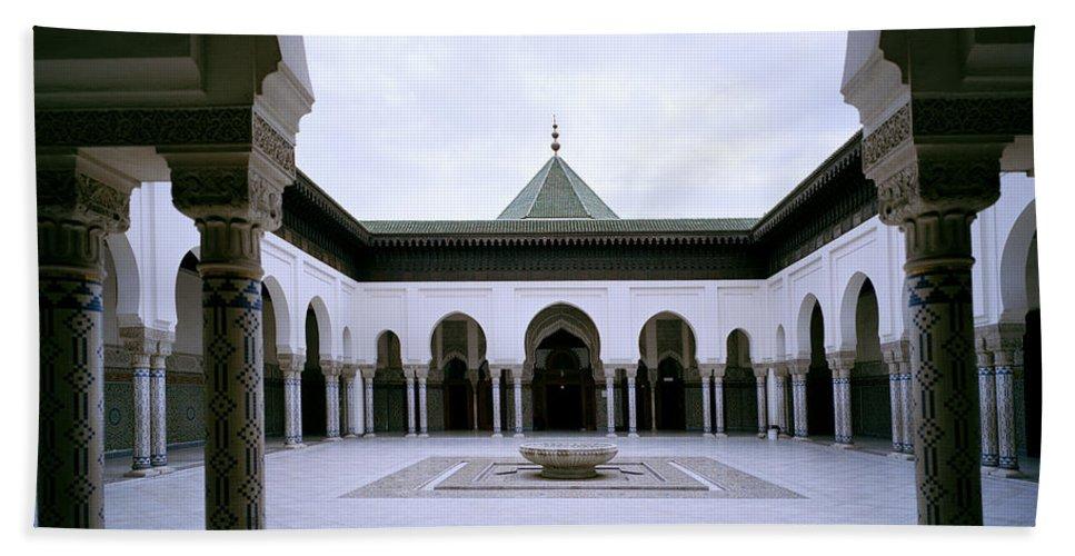 Paris Beach Towel featuring the photograph The Paris Mosque by Shaun Higson