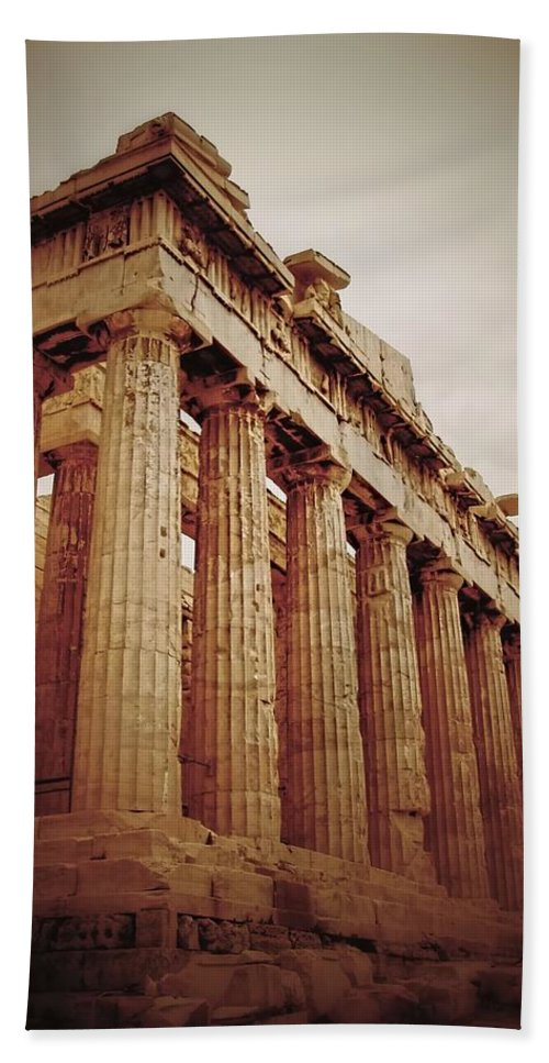 Parthenon Beach Towel featuring the photograph Parthenon by Jenny Hudson