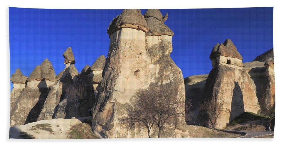 Turkey Beach Towel featuring the photograph Pasabag Goreme National Park Cappadocia Turkey by Ivan Pendjakov