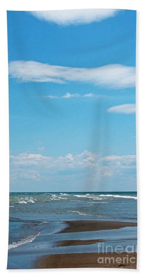 Canada Beach Towel featuring the photograph Pelee by Ann Horn