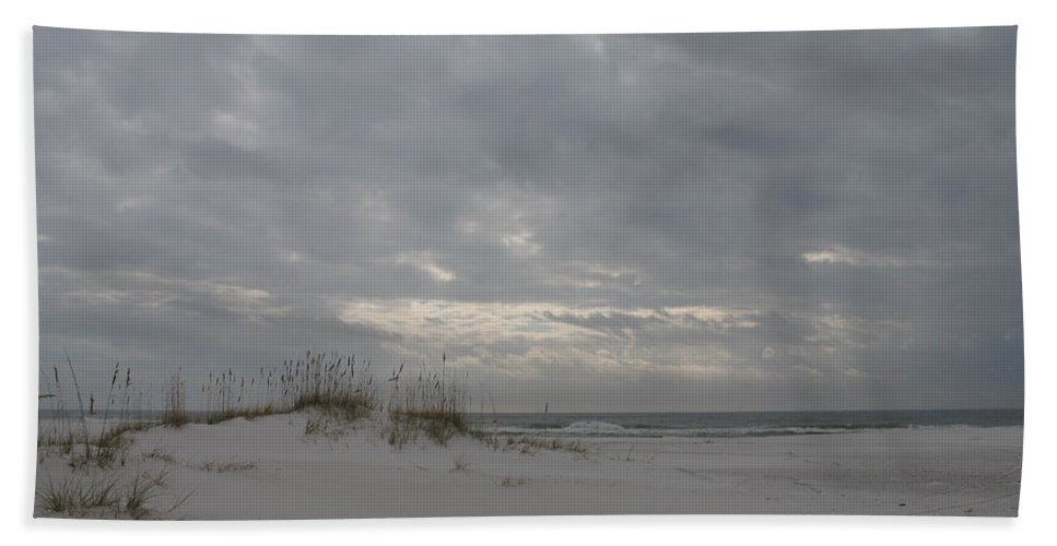 Beach Beach Towel featuring the photograph Pensacola Beach After Storm by Christiane Schulze Art And Photography