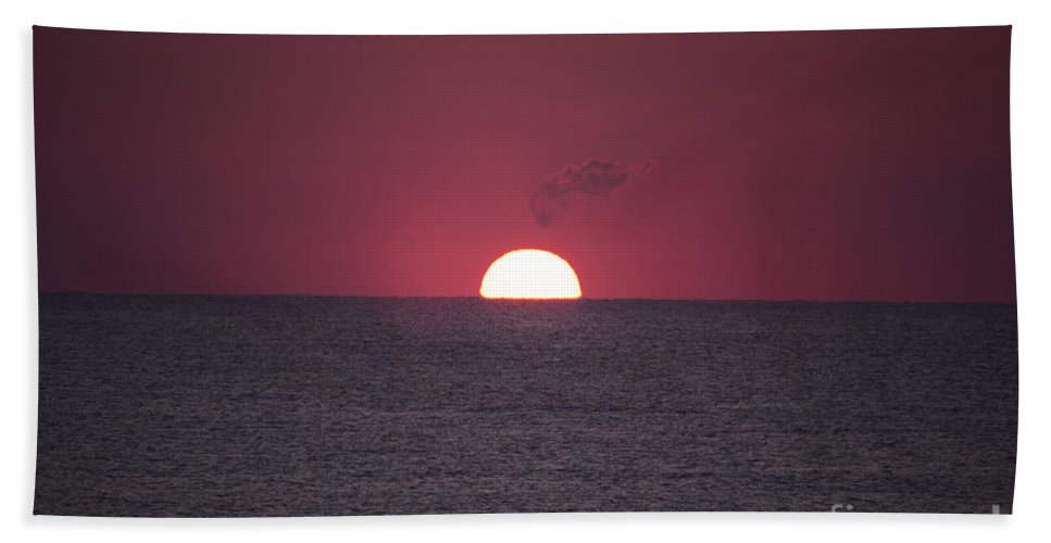 Sunrise Beach Towel featuring the photograph Perfect Sunrise by Nelson Watkins