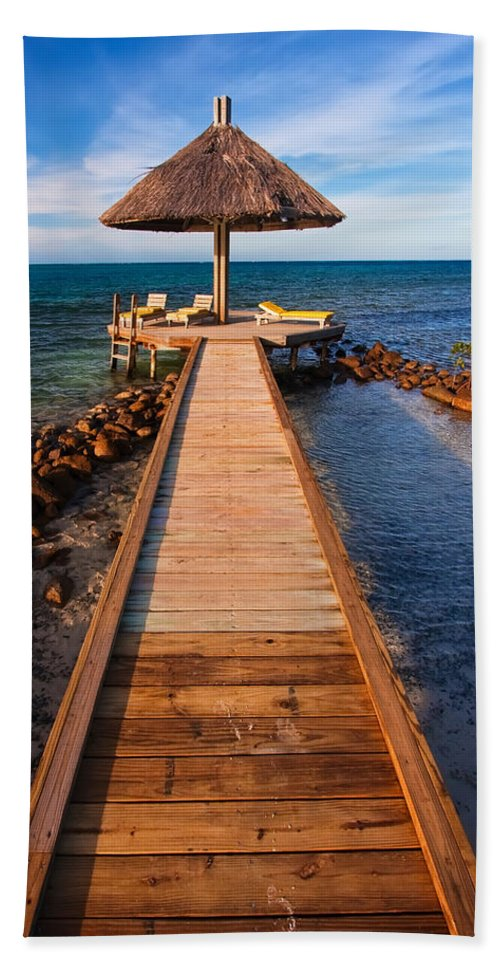 3scape Photos Beach Towel featuring the photograph Perfect Vacation by Adam Romanowicz
