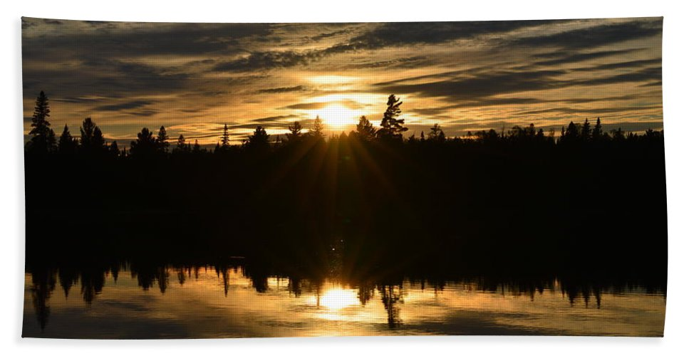 Sunset Beach Towel featuring the photograph Perfection by Thomas Phillips
