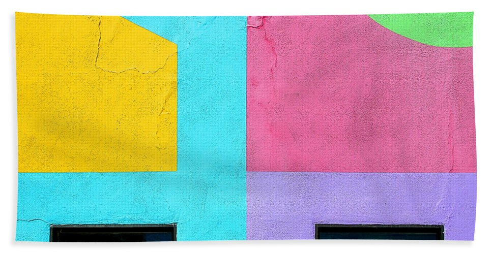Architecture Beach Towel featuring the photograph Point Counterpoint by Joe Kozlowski