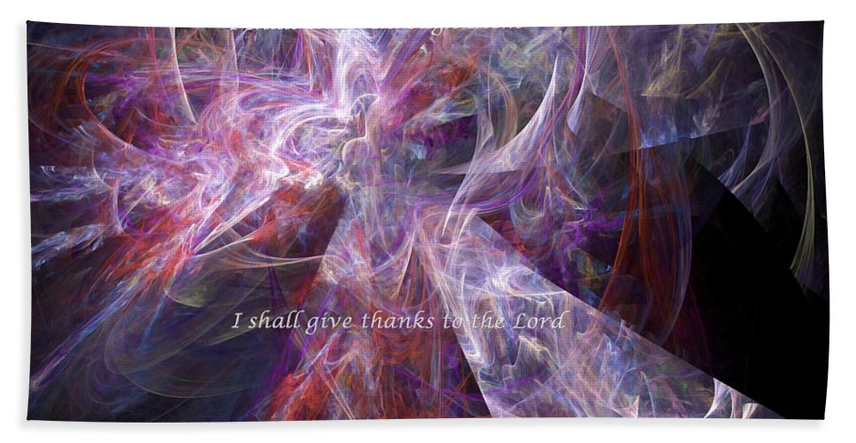 Abstract Beach Towel featuring the digital art Portal by Margie Chapman