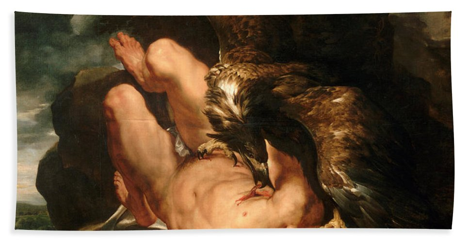 prometheus bound painting