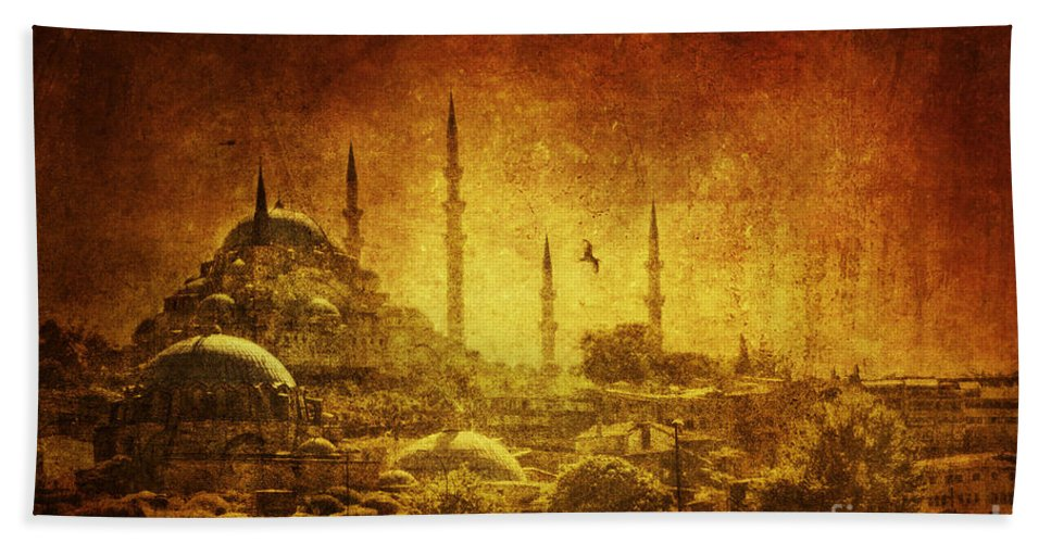 Turkey Beach Towel featuring the photograph Prophetic Past by Andrew Paranavitana