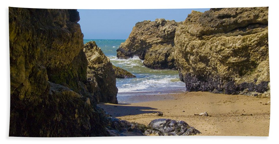 Landscape Beach Towel featuring the photograph Pt Reyes National Seashore by Bill Gallagher