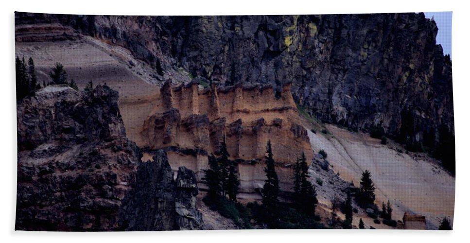 Pumice Castle Beach Towel featuring the photograph Pumice Castle I by Sharon Elliott
